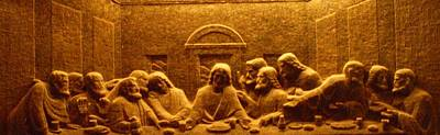 Photograph - The Last Supper Salt Carving by Tammy Bullard