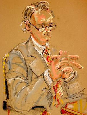 Painting - The Lawyer by Les Leffingwell