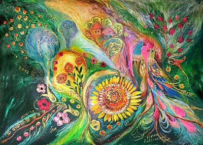 The Levant Village Art Print by Elena Kotliarker