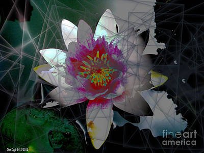 Inner Self Digital Art - The Light From Within by Cheri Doyle