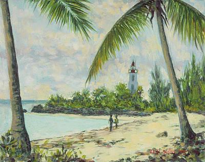 The Lighthouse - Zanzibar Print by Tilly Willis