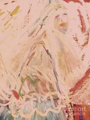 The Lily Who Waits Art Print by Deborah Montana