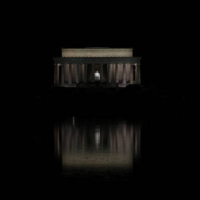 Photograph - The Lincoln Memorial by Kim Hojnacki