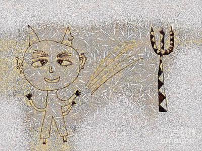 The Little Devil Art Print by Odon Czintos