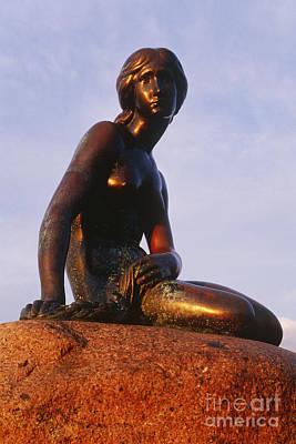 The Little Mermaid, Copenhagen, Denmark Art Print by Jeremy Woodhouse