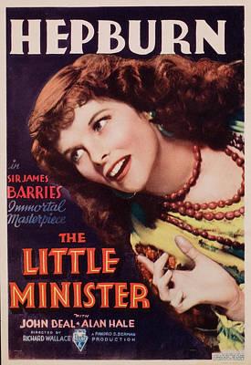 Postv Photograph - The Little Minister, Katharine Hepburn by Everett