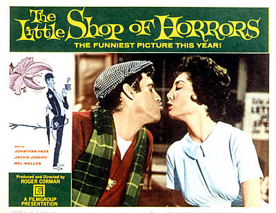 By Jackie Photograph - The Little Shop Of Horrors, 1960 by Everett