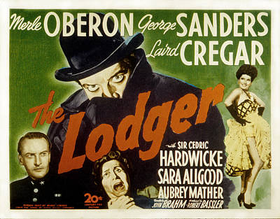 Posth Photograph - The Lodger, Laird Cregar, George by Everett
