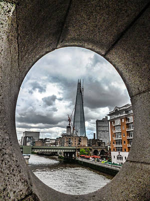 The London Shard Art Print by Dawn OConnor