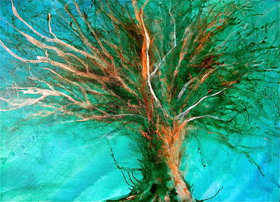 Painting - The Lone Tree by Heather Matthews