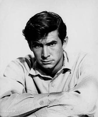 1957 Movies Photograph - The Lonely Man, Anthony Perkins, 1957 by Everett