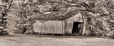 The Long Barn Art Print by JC Findley