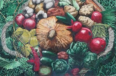 The Lord's Abundance Art Print by Collin Edler