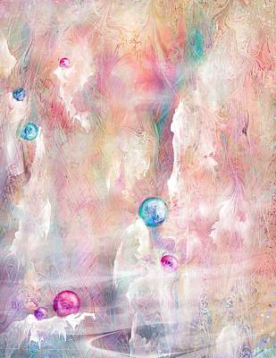 The Lost Marbles Print by Rachel Christine Nowicki