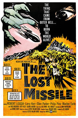 Cult Film Photograph - The Lost Missle, 1958 by Everett