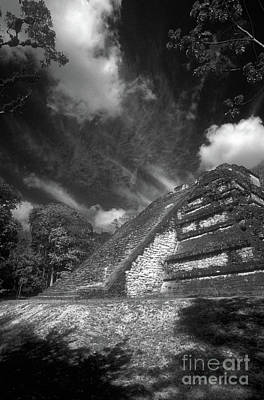 Photograph - The Lost World Tikal Guatemala by John  Mitchell