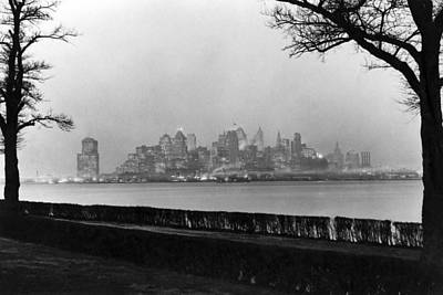 The Lower New York Skyline Art Print