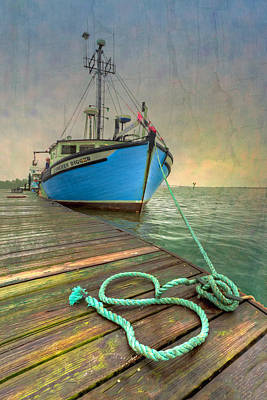 Crabbing Photograph - The Lurcher Digger by Debra and Dave Vanderlaan