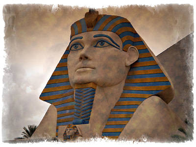 Photograph - The Luxor - Impressions by Ricky Barnard