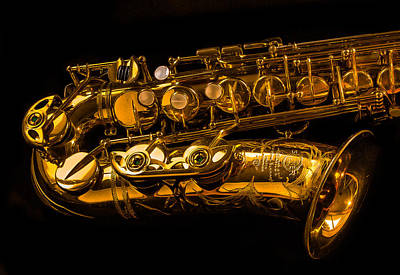 Photograph - The Lying Sax by Jean Noren