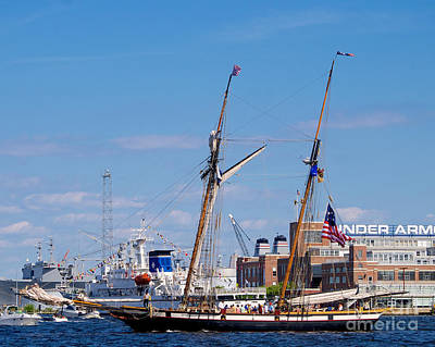 Photograph - The Lynx A Clipper Ship by Mark Dodd