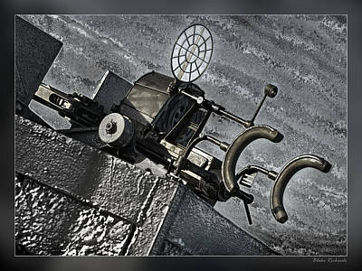 The Machinegun Art Print