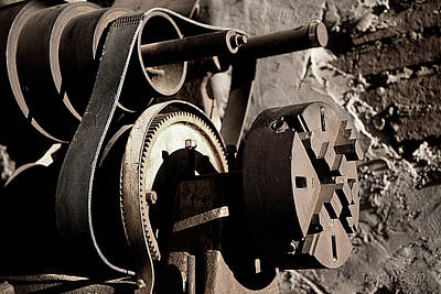 Ghost Town Photograph - The Machines Of Men - 2 by Jephyr Art