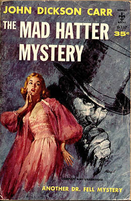 Mad Hatter Painting - The Mad Hatter Mystery by Lu Kimmel