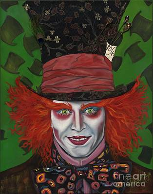 The Mad Hatter Art Print by Viveca Mays