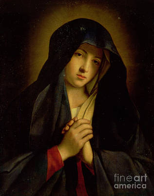 Immaculate Painting - The Madonna In Sorrow by Il Sassoferrato