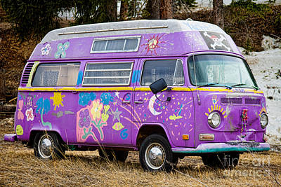 Photograph - The Magic Bus by James BO  Insogna