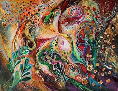 The Magic Circle... Available For Direct Purchase On Www.elenakotliarker.com Art Print by Elena Kotliarker