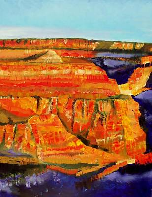 The Magnificent Grand Canyon 2 Art Print by FS Boric