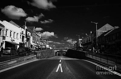 The Main Photograph - The Main Street In Banbridge Featuring The Downshire Bridge Known Locally As The Cut Banbridge by Joe Fox