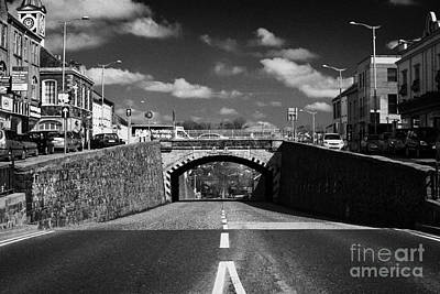 The Main Photograph - The Main Street In Banbridge Featuring The Downshire Bridge Known Locally As The Cut Banbridge Town by Joe Fox