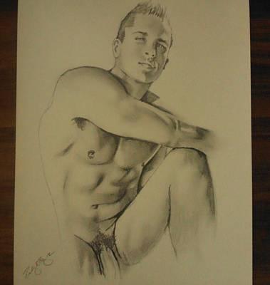 The Male Poser Original by Bobby Boyer