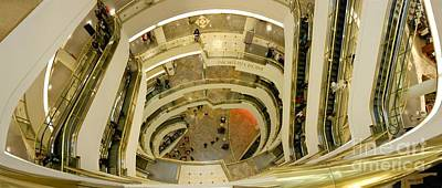 Digital Art - The Mall by Ron Bissett