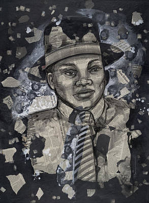 The Man Print by Larry Poncho Brown