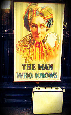 Photograph - The Man Who Knows by Lauren Williamson