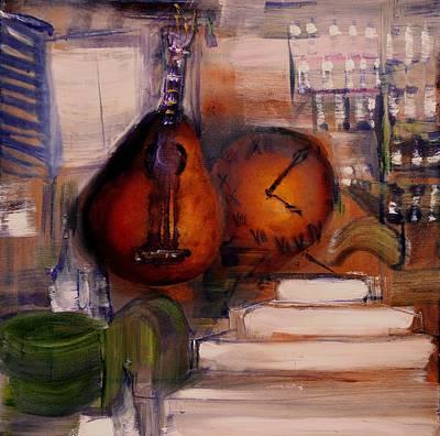 The Mandolin Art Print by Evelina Popilian