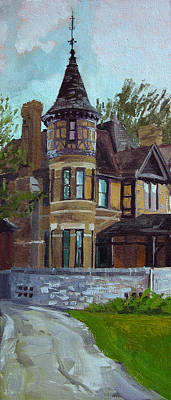 The Manor Art Print by Anthony Sell