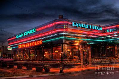 Corky Willis And Associates Atlanta Photograph - The Marietta Diner by Corky Willis Atlanta Photography