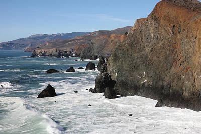 The Marin Headlands - California Shoreline - 5d19692 Art Print
