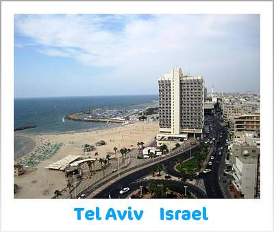 Photograph - The Marina  Tel Aviv Israel by John Shiron