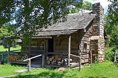 Photograph - The Mark Twain Family Cabin by Paul Mashburn