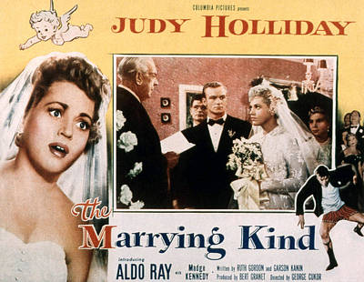 Fid Photograph - The Marrying Kind, Aldo Ray, Judy by Everett