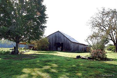 Photograph - The Mashburn Barn by Paul Mashburn