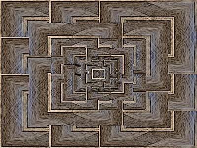 The Maze Within Art Print by Tim Allen