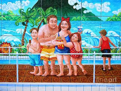 Painting - The Mcdonalds Family by Igor Postash