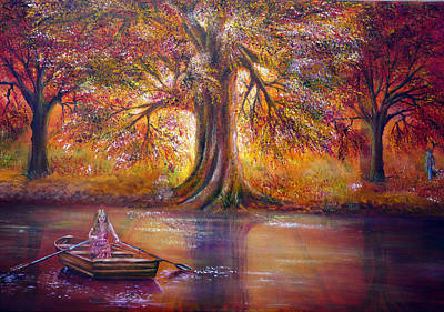 Rainbow Painting - The Meeting Place by Ann Marie Bone
